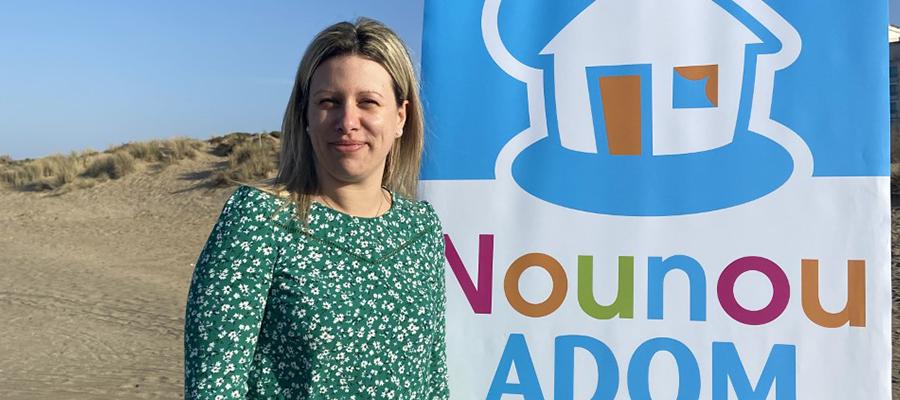 Maud OLIVIER, responsable de secteur NOUNOU ADOM PAYS DE RETZ