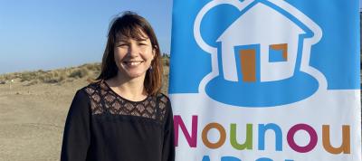 Eloise BOUYER, responsable de secteur NOUNOU ADOM